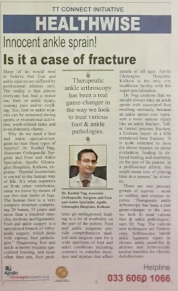 Is it a case of Fracture?