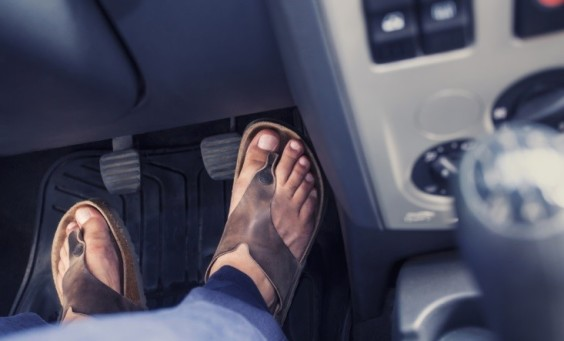 driver's-foot