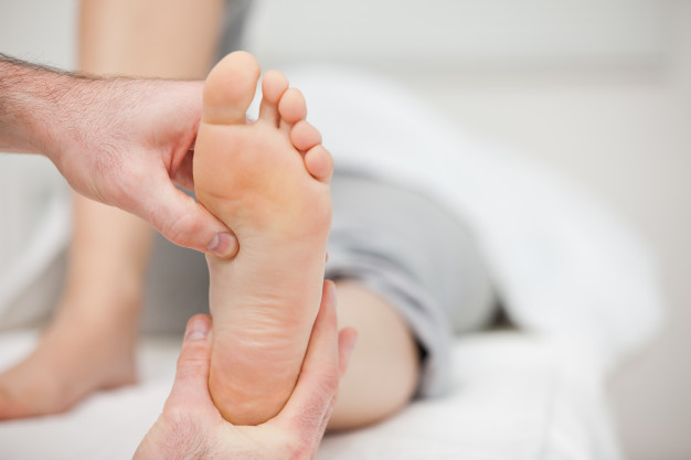 diabetic foot routine checkup